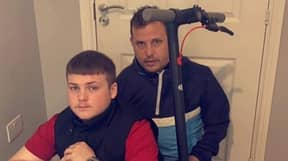Dad Fined £1,000 And Gets Points On Licence After Borrowing Teenage Son's E-Scooter