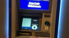 Customer Finds Hidden Box That Steals Money At Cash Machine