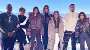 Kardashians Accused Of Photoshopping Everyone In Holiday Picture