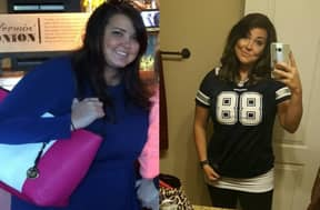 Girl Loses Weight But Is Rinsed For American Football Team She Supports