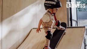 This Two-Year-Old Girl Is Already A Skating, Surfing And Snowboarding Star
