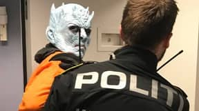 Norwegian Police Arrest Night King For Destroying 'The Wall'