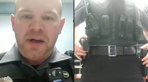 US Police Officer Shares Video Showing How Hard It Is To Mistake Taser For A Gun