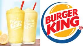 Burger King Is Bringing Out Fanta Lemon Flavoured Slushies