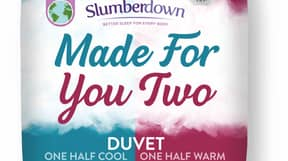Aldi Selling Half-Cool Half-Warm Duvet For Couples Who Like To Sleep In Different Temperatures