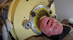 Man Has Been Using Iron Lung Machine For Over 65 Years