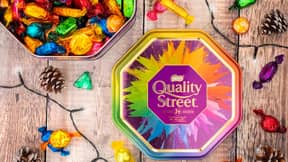 Quality Street Includes First Ever White Chocolate Sweet In Time For Christmas