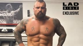 Eddie Hall Explains What He Has For His Cheat Meals