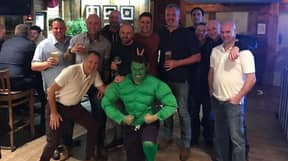 Lad Falls Victim To 'Fancy Dress Party' Prank And Dresses As Hulk