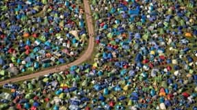 A Record Number Of Tents Were Taken Home From Glastonbury Festival
