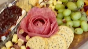 People Are Going Wild Over Salami Roses For Charcuterie Boards