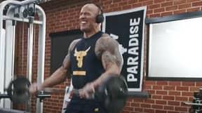 Dwayne 'The Rock' Johnson Shares Brutal '21-Inch Gun Salute' Bicep Workout