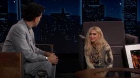 Borat Introduces Jimmy Kimmel To His Daughter Tutar