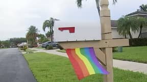 Gay Couple Fined For Flying Small Pride Flag Under Mailbox