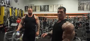 This Is What Happens When GOT's 'The Mountain' Trained With World's Biggest Bodybuilder