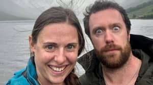 Woman's Terrifying Selfie Shows How Close Couple Were To Being Hit By Lightning