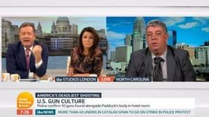 Piers Morgan Loses It With Pro-Gun Campaigner