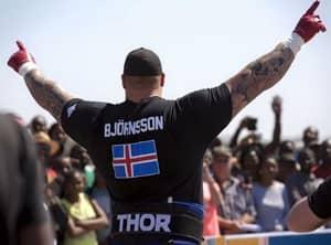 Hafþór Júlíus Björnsson Is Absolutely Smashing The World's Strongest Man 2016 And He Even Broke A World Record