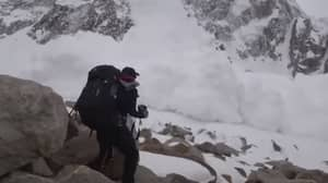 Filmmakers Get Caught In Middle Of Avalanche With No Time To Escape