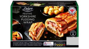 Lidl Is Selling A Festive Yorkshire Pudding Wrap For £7.99