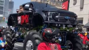 Monster Tuck Carries DMX's Coffin As Funeral Brings Brooklyn To Standstill