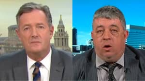 Piers Morgan Goes In On National Rifle Association Supporter