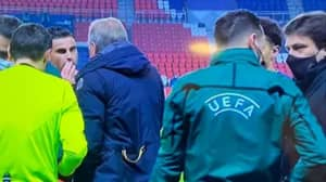 ​Istanbul Basaksehir And PSG Players Walk Off During Champions League Clash After Accusing Fourth Official Of Racism