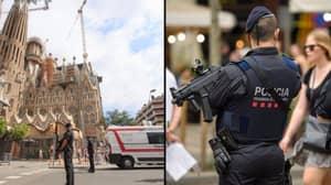 Terror Suspect Wearing 'Explosive Belt' Shot On Outskirts Of Barcelona