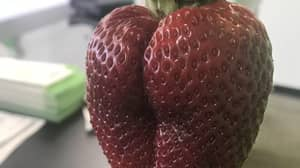 This Is The Sexiest Strawberry You'll Ever See