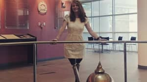 Woman Who Lost Both Her Legs Charms Would-Be Suitors With Tinder Profile