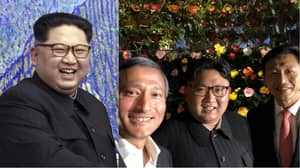Kim Jong-Un Poses In What Looks Like First Ever Public Selfie
