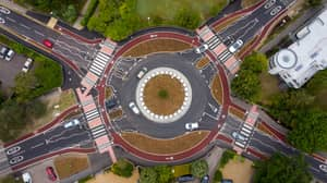 UK's First Dutch-Style Roundabout That Prioritises Cyclists Opens To Public