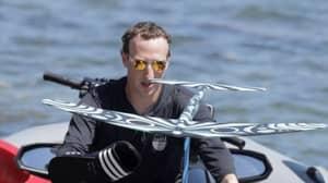 Mark Zuckerberg Seen Surfing With Ankle Bracelet That Drives Sharks Away