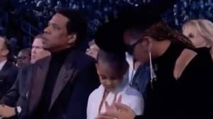 Blue Ivy Has No Chill In Telling Beyonce And Jay-Z To Stop Clapping At Grammys