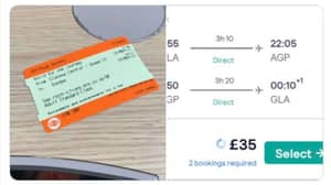 Traveller Finds Flight From Glasgow To Malaga Cheaper Than Train To Dundee