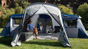 People Are Seriously Impressed By This Huge 20-Person Tent