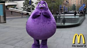 People Have Just Found Out What McDonald's Character 'Grimace' Actually Is