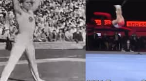 People Can't Believe Gymnastics Is Same Sport After Watching Footage 70 Years Apart