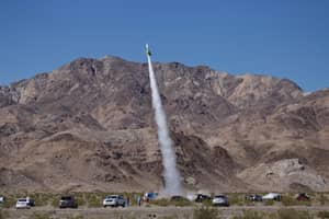 Flat Earther Finally Manages To Blast Off In Homemade Rocket Ship