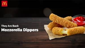 McDonald's Mozzarella Dippers Are Back For A Limited Time
