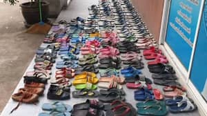 Man With With Flip-Flop Fetish Arrested After Stealing 126 Pairs To Make Love To