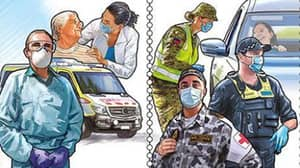 New Set Of Postal Stamps Honour Aussie Frontline Workers Who Persevered Through The Pandemic