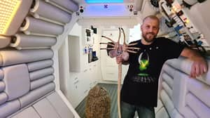 Film Buff Spends More Than £10,000 Building The Spaceship From Alien
