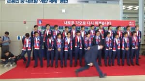 South Korean Football Team Pelted With Eggs After Returning From World Cup