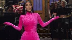 Kim Kardashian West Makes Controversial OJ Simpson Joke During SNL Monologue