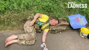 Army Major Fights For Daughter's Future With 700 Mile Trek Across Britain - Barefoot