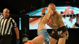 Davy Gallon Wins MMA Bout With Incredible 'Rolling Thunder' Kick Knockout