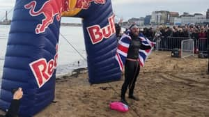 Ross Edgley Becomes First Person To Swim Around Great Britain After 157 Days At Sea