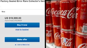 Woman Opens Rare Flawed Diet Coke Can 'Worth £15,000'