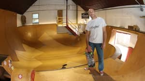Mechanic Selling House Featuring Huge Homemade Indoor Skate Park